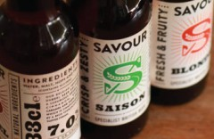Savour Beer Label Design