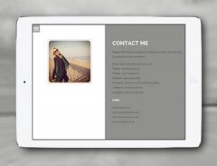 Contact Page from Portfolio
