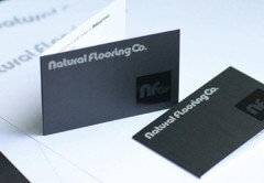 Business Card Showing Brand