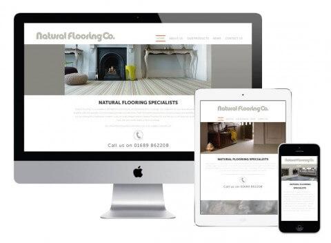 Responsive Website Natural Flooring