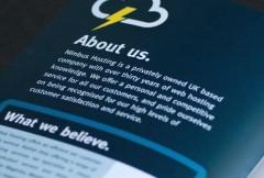 Leaflet Design for Nimbus Hosting