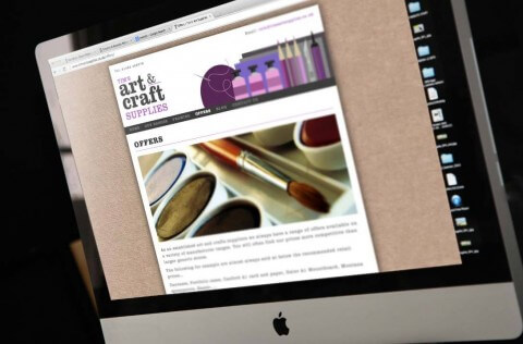 Tim's Art Supplies Website