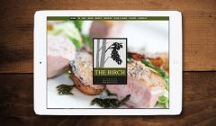 View The Birch Restaurant Website Design
