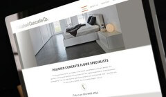 View Polished Concrete Brand Identity and Website Design