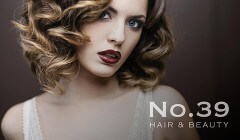 View No.39 Hair and Beauty Website