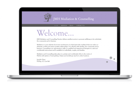 Homepage of the JMH Website