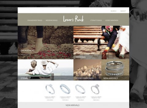 Shopping Site Homepage