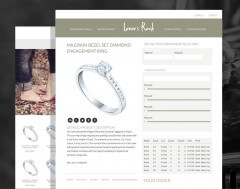 Shopping Page for Ecommerce Site