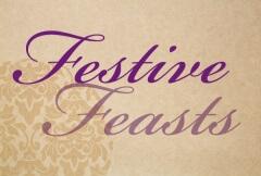 Festive Feast script typography