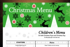 Children's Menu Design for McMullen's Chicken and Grill