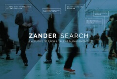 Zander Search Recruitment Homepage